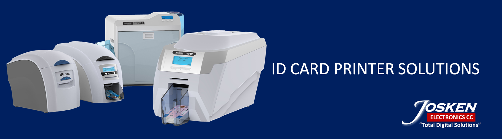ID CARD PRINTER BANNER
